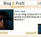blog de la semaine