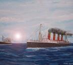 Peinture lusitania