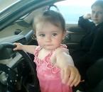 ma niece dans ma voiture