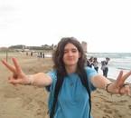 ju sur la plage ki s'éclate