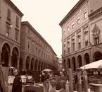 Marché à Bologne (Italie)