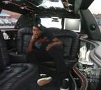 me dans la limousine