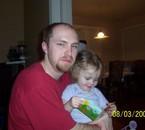 Mon amour avec sa fille Roxanne!