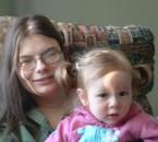 Namour avec sa fille Mégane!