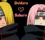 Sakura X Deidara