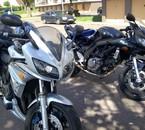 ma moto et celle de mn pote