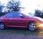 Mon anciene voiture (206 cc  équipé )