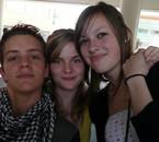 ~ Daphné (la petite), Andréa (la grande) et moi ~