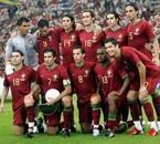 *L'équipe du portugal à l'Euro 2008*