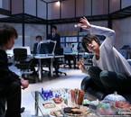 L jouant aux échec contre Light, qu'il soupsone d'être Kira.