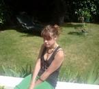 iin the garden