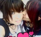 my and my ex GF love ya <3 Chrastaline =3