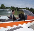 Moi revenant d'un Vol en DR400