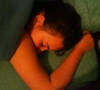 me voila qui dort aprés une soirée bien arrosé!!!