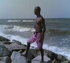 c moi a la plage