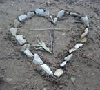 Ennuie sur la plage ^^ Je t'aime mon coeur.