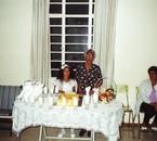 Mon arrière Grand mere et Moi - Ile maurice 2001