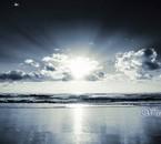 Le ciel et la mer qui donne l'horizon