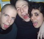 frangin,moi et couzine au master de 2008 un truc de dingue