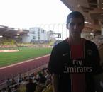 Moi au Stade Louis II