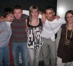 blandine(ma collegue),mon cousin mdr, ma rouya,tristan et my