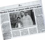 nordine oubaali et moi  ,son 1er titre de champion de france