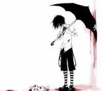ce ne sont plus mes larmes qui coulent c'est mon sang