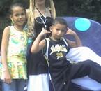 ma pote et ces enfants