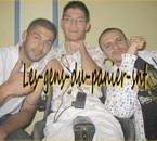 Avec Salim et Le Rat Luciano