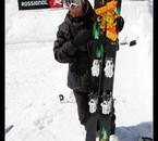 Candide et ses nouveaux skis