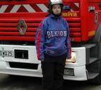 ma tite bouille le jour d'une intervention des pompier chez