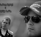 Sebastian Vettel et Felipe Massa
