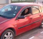 C'est moi dans ma voiture