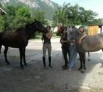 equipe de choc !! les meilleur chevaux avec leur fermiere