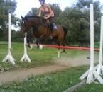 harpege et moi .. malgré tout je l'aime bien ce poney!!