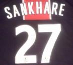 Sankharé numéro 27 du PSG