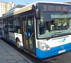 Irisbus Citelis 12 du réseau Ligne d'Azur (Nice)