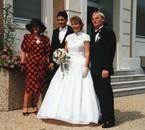 24 août 1991 avec mes parents