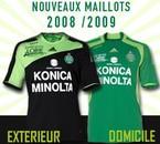Maillots Saint-Etienne