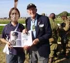 moi avec Denis M Parsons du 327th glider