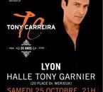 Tony Carreira a lyon le 25/10/2008