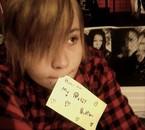 For Haru-chan ♥ (Ne regardez pas derrière c'est pas à