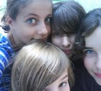 Manou, Lulu, Ninice et Mistigri