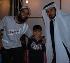 My Son Rayan with Abdlaziz and Abo Malik