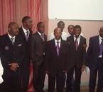 Les hommes de la chorale