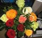 les fleurs de mon cheri