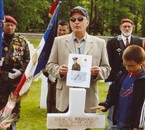 Memorial Day des Enfants de France at Epinal American cemete