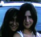mes 2 cousines Aryanna et Madison en Italie