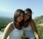 mes 2 cousines Madison et Aryanna en Italie