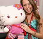 Miley et Hello kitty (L)